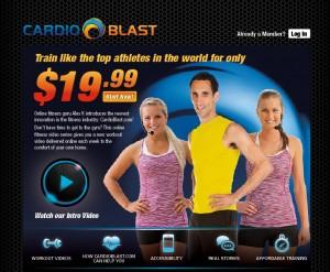 Cardio Blast Online Workout