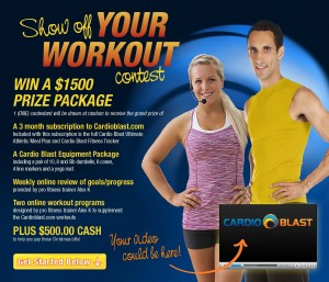 Show Off Your Workout Contest