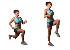 Lunge with One Leg Up