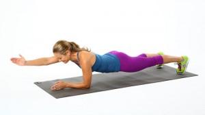 1 Arm Plank